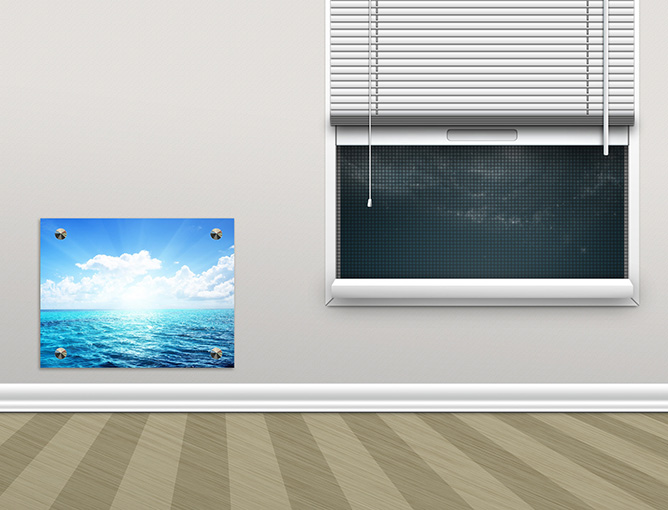 экран для батареи из стекла