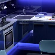 Скинали, фартук из стекла или плитка, что лучше для рабочей стенки на кухне?