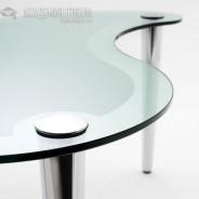 Стеклянная мебель: преимущества и недостатки