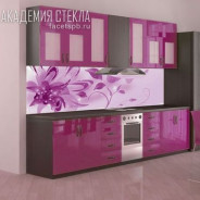 Стеклянные панели для кухни