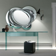 Комбинированные зеркала в интерьере