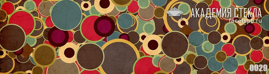 фото для фартука в кухню абстракция круги