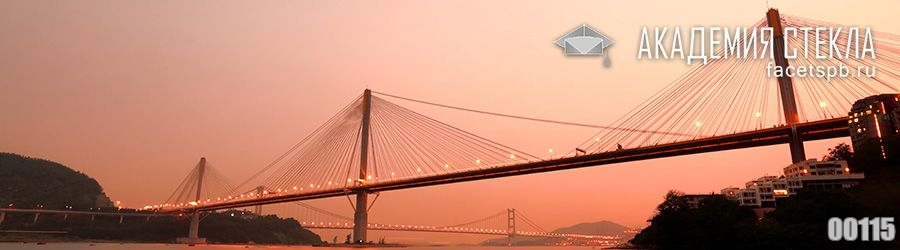 фото для фартука город мост на закате