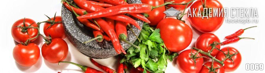 Фото для стеклянного фартука овощи