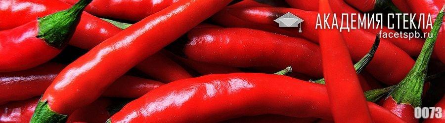 Фото для стеклянного фартука красный перец