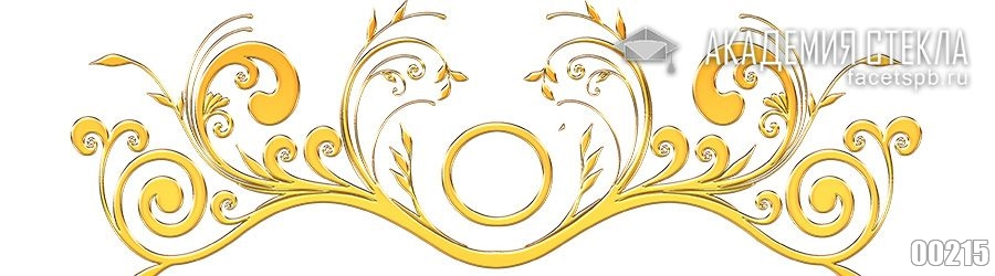Фото для фартука узоры золотом