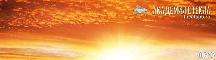 фото для фартука из стекла небо на закате