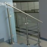 Лестничные ограждения из стекла Спб