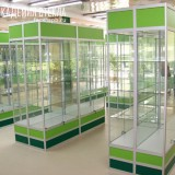 стеклянная витрина Спб
