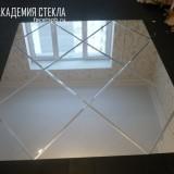 Зеркальное панно из стекла Спб