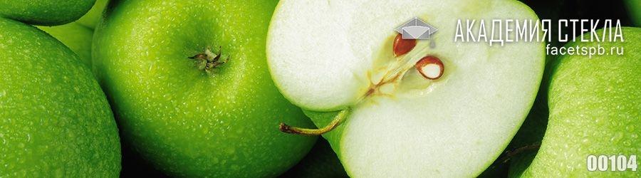 Фото для стеклянного фартука яблоки