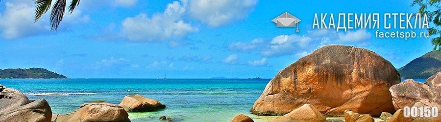 фото для фартука камни море