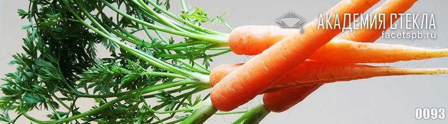 Фото для стеклянного фартука морковь