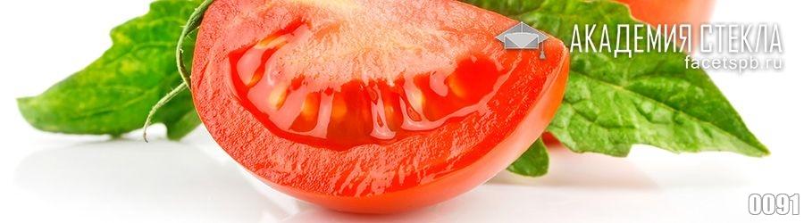 Фото для стеклянного фартука помидор