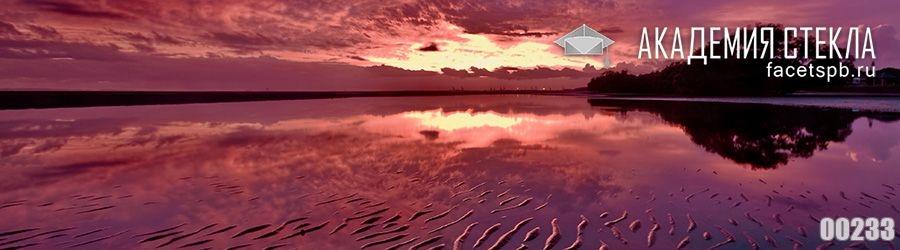 фото для фартука закат на море