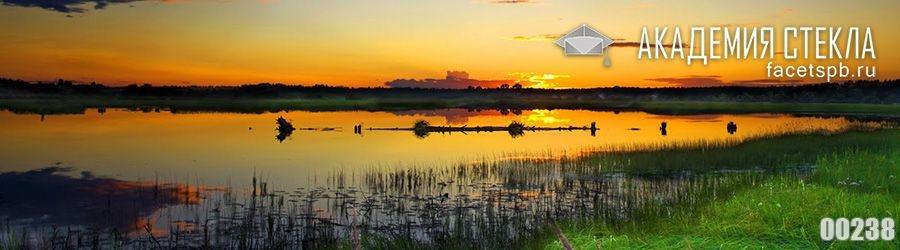 фото для фартука закат на реке